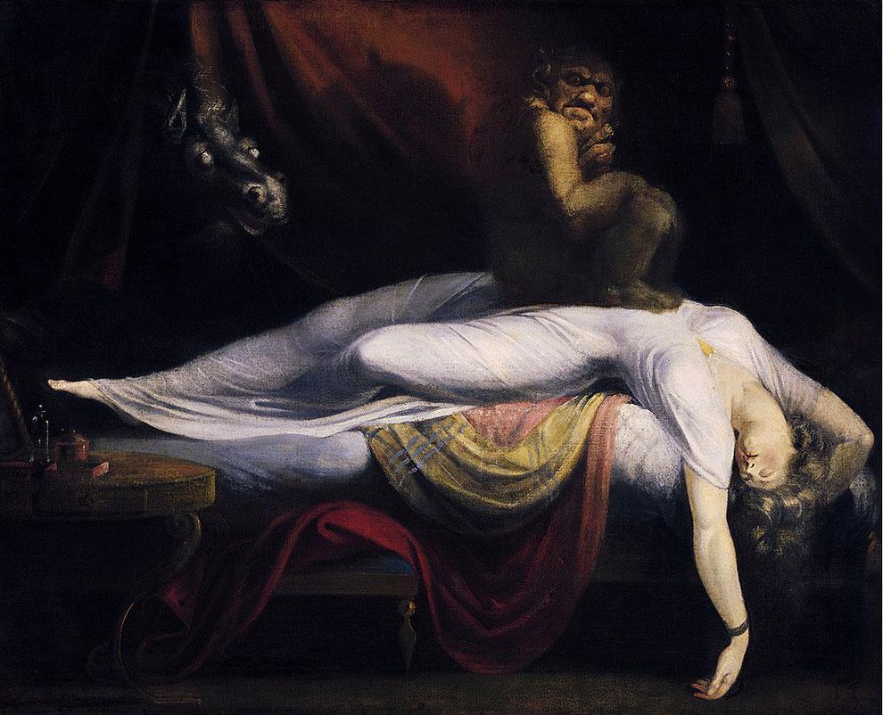Nachtmahr - Gemälde von Henry Fuseli