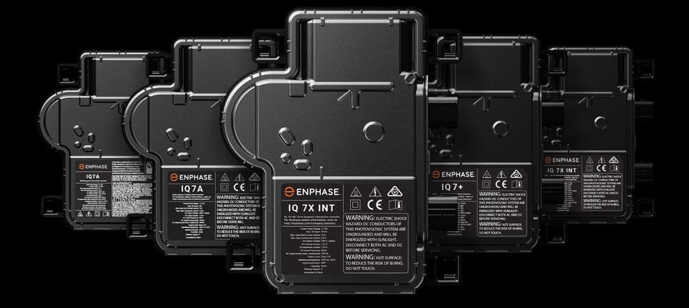 Enphase das Mikro-Wechselrichter System für jede Anwendung, ob kleine oder große PV-/ Speicher-Anlage
