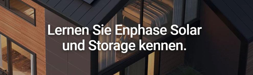 Lernen Sie Enphase Solar und Storage kennen.