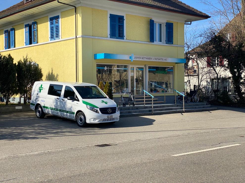 Verkaufsladen an der Mittelstrasse in Langenthal