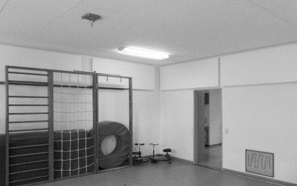 Akustische Verbesserung in einem Gruppenraum