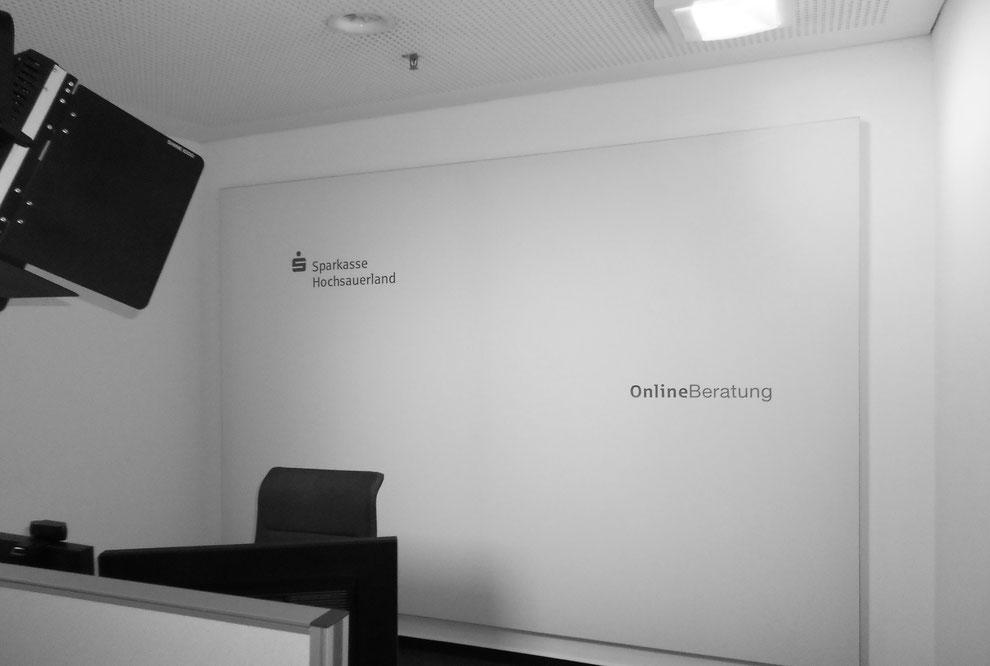 Akustik in einem Telefonkonferenzraum TelKo