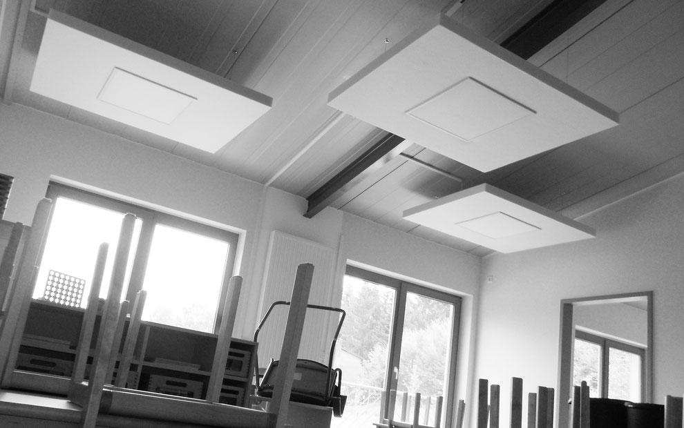 Akustisches Beleuchtungskonzept in einen Gruppenraum