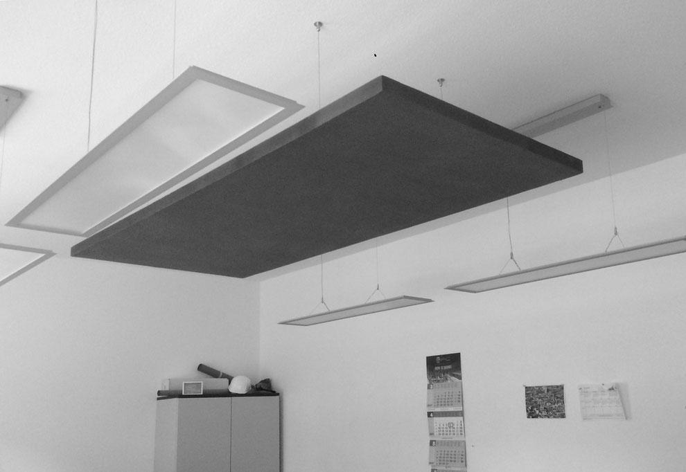 Akustische Nachbehandlung eines Büros
