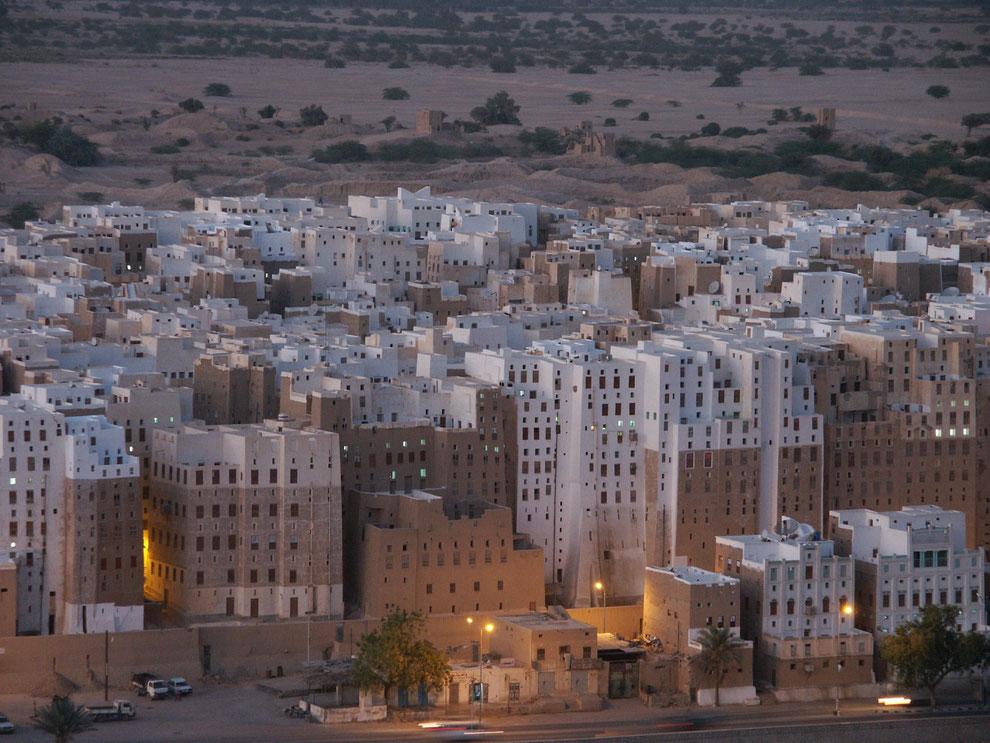 Shibam im Hadramaut (Jemen)