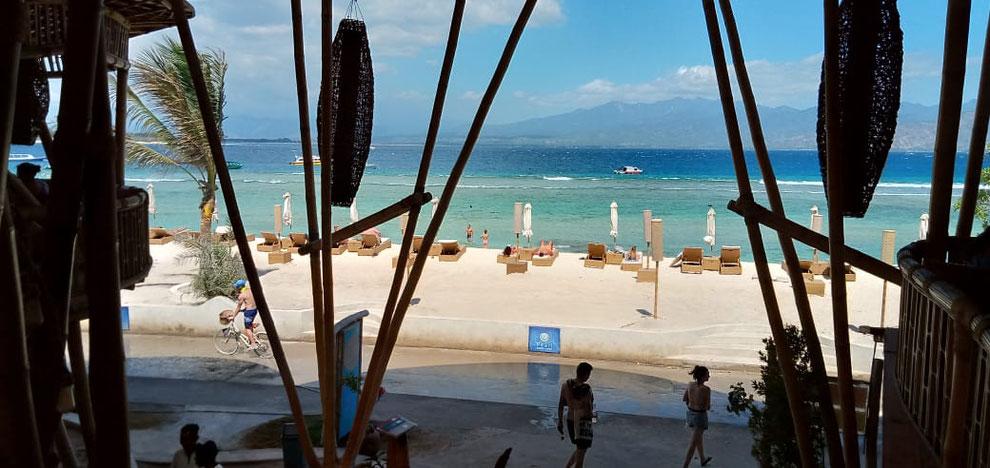 Beach on Gili T, North Lombok