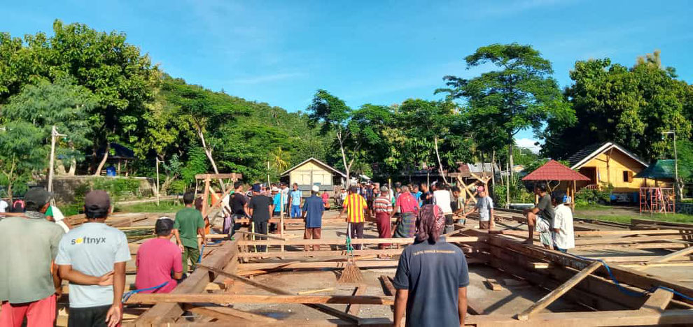 Ponpes Al-Istiqamah Kapu Desa Jenggala, Islamic boarding school in North Lombok