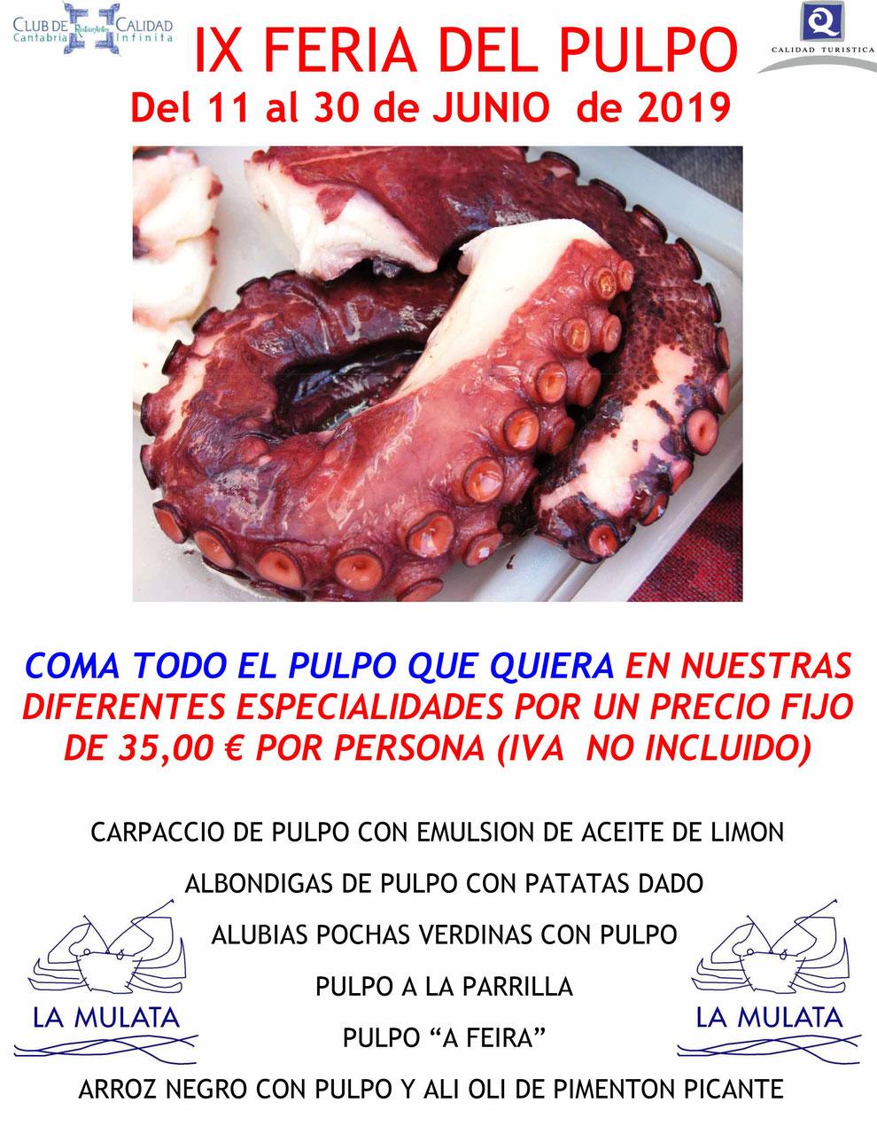 FERIA DEL PULPO-LA MULATA-2019