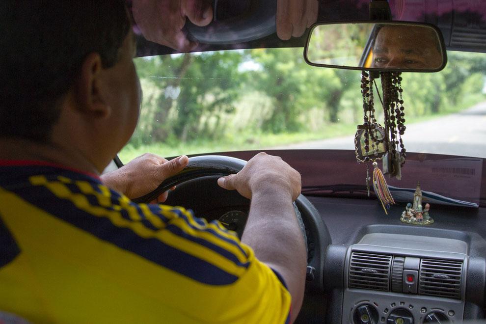 Nuestro taxista Nicolás