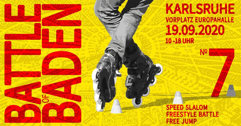 Battle of Baden, Freestyle Slalom Skating Event, Skaterplatz Europahalle Karlsruhe