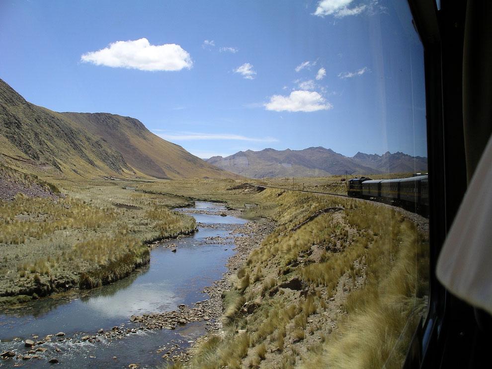 Zugfahren in Peru und Ecuador ist ein grossartiges Erlebnis!