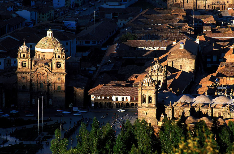 Cusco im Sonnenaufgang - einer der Höhepunkte Ihrer Peru Reise