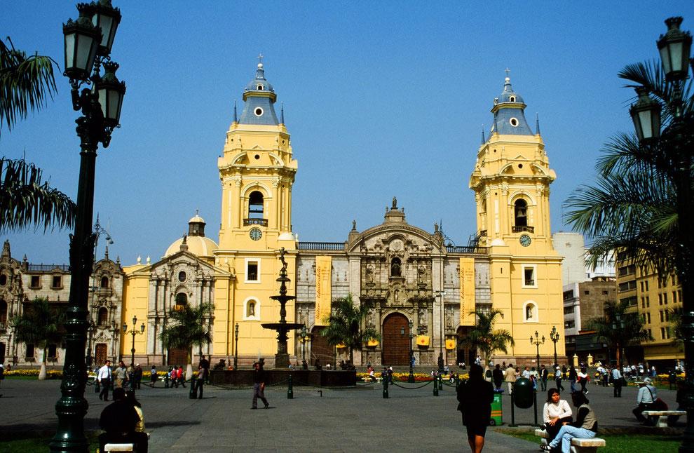Stadtbesichtigung in Lima bei PERUline buchen