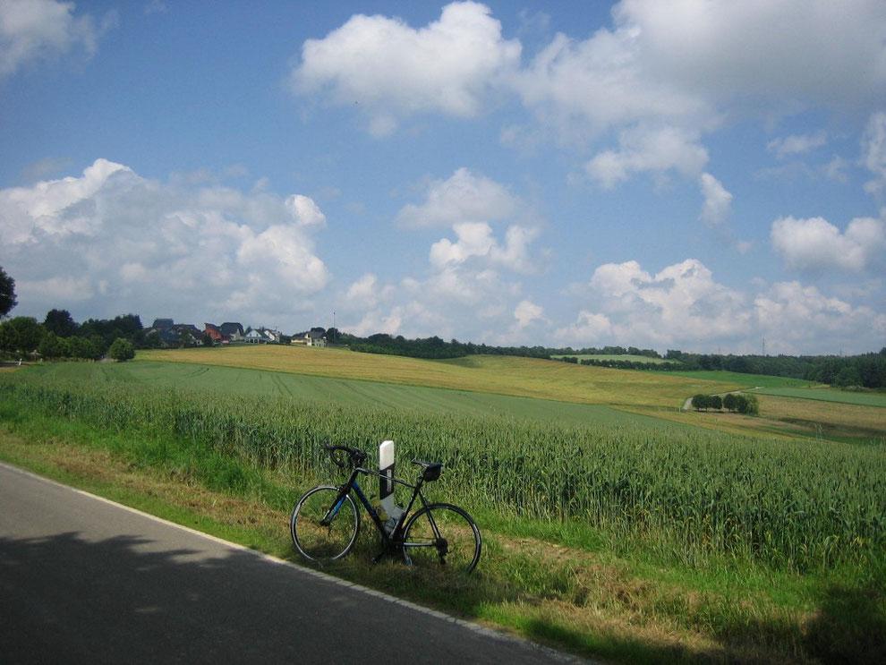 Kurz vor Hungenroth/Hunsrück