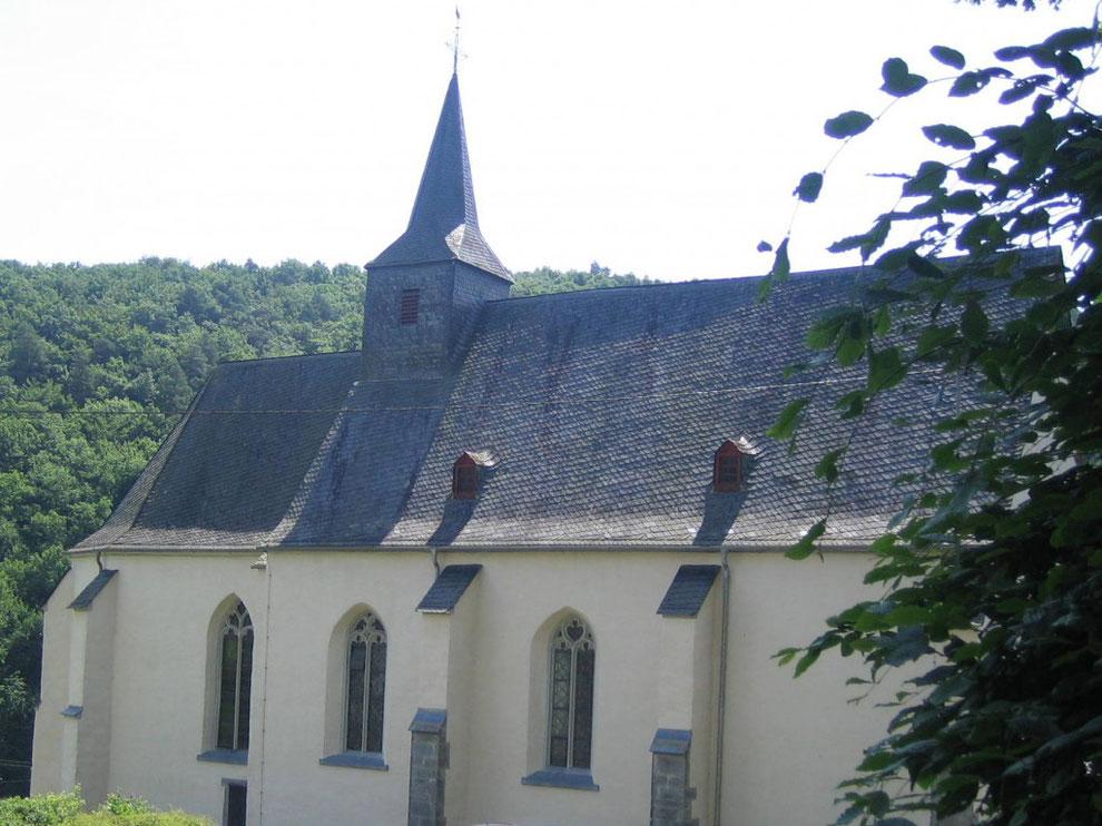 Wallfahrtskirche Unserer Lieben Frau von Wirzenborn - das markante Wahrzeichen des Westerwälder Ortes
