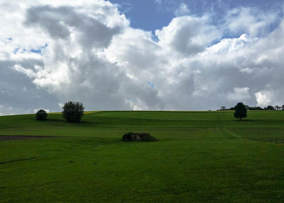 Landschaft genießen