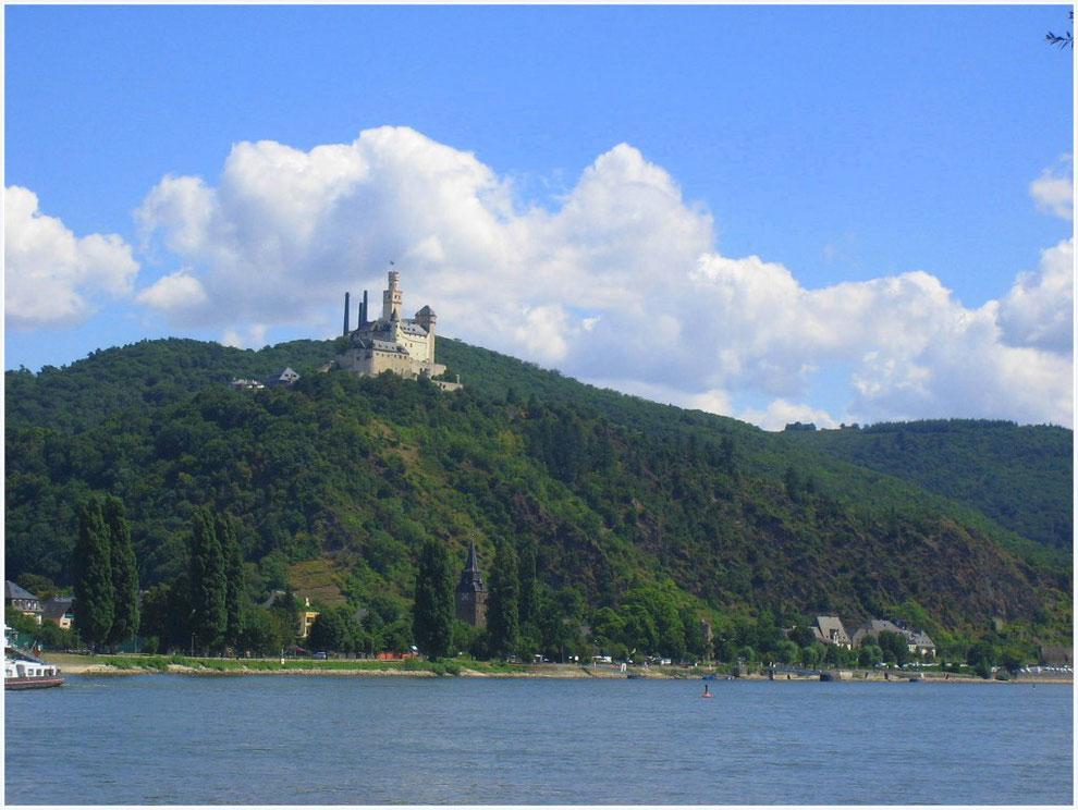 Marksburg bei Brauchbach/Rhein