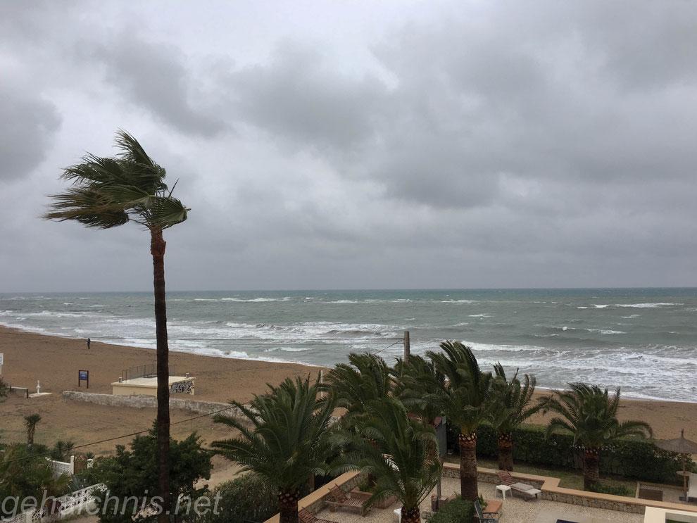 Ankunft in Dénia an der Costa Blanca