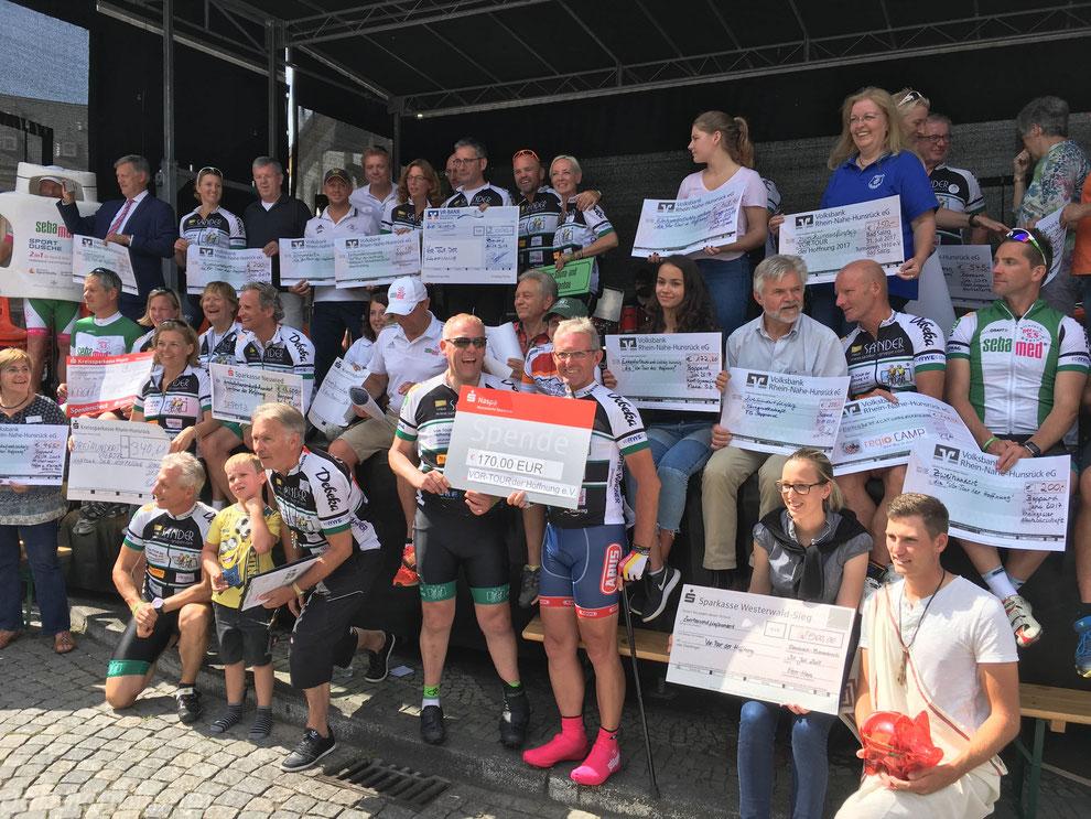 Spenden-Marathon in Boppard