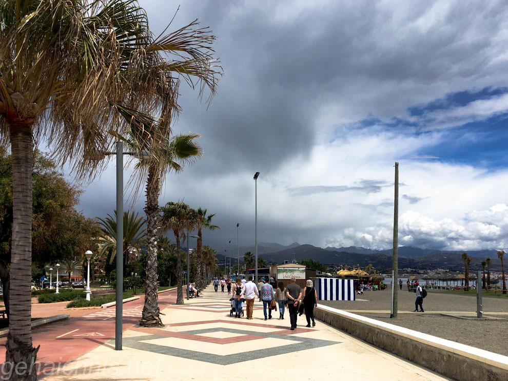 Zurück in Torre del Mar