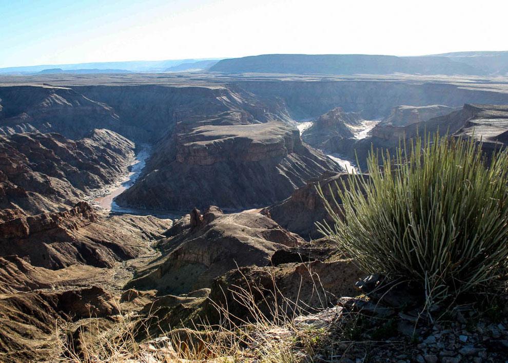 Fish River Canyon. Blick auf den Höllenbogen (Hell's Bend)