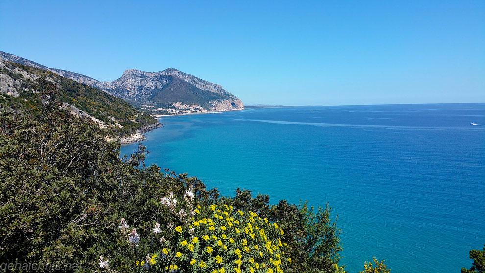Auf der Küstenstraße zurück nach Cala Gonone