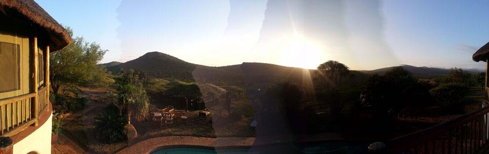 Mein letzter Sonnenaufgang auf Thanda.