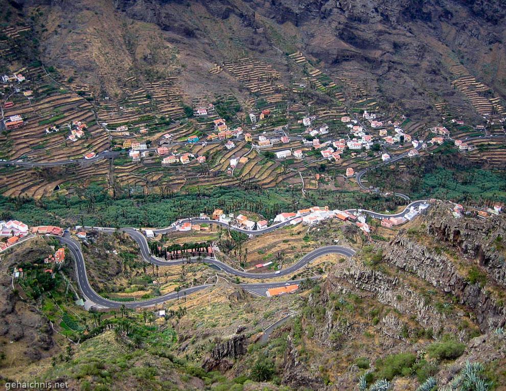 Im oberen Teil des Valle Gran Rey