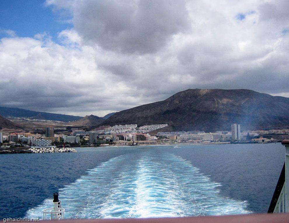 Den Wind spüren. Blick auf den Montaña de Guaza (Teneriffa)