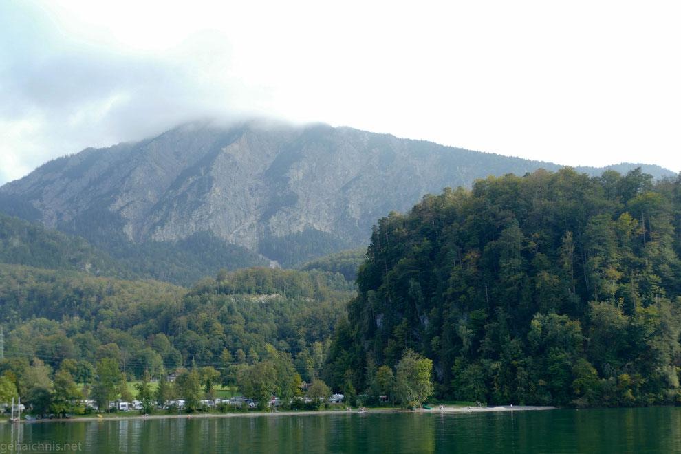 Blick zum Jochberg (1.565 m)