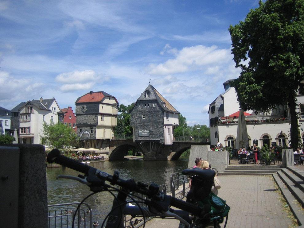 Brückenhäuser in Bad Kreuznach/Nahe