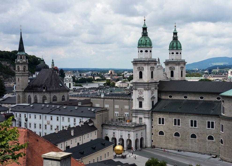 Kapitelplatz südlich des Salzburger Doms
