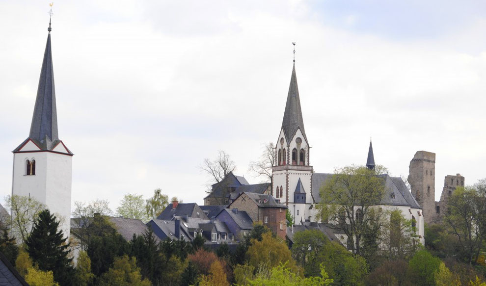 Kastellaun, die Burgstadt im Hunsrück