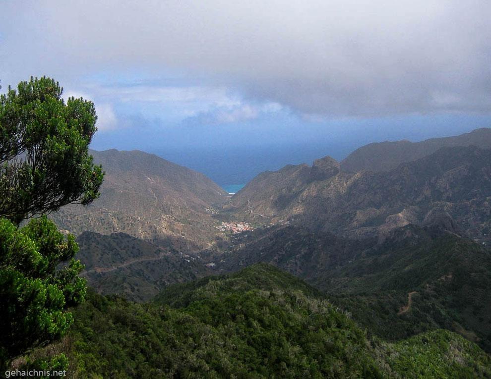 Blick ins Valle Gran Rey