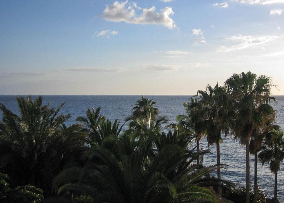 Puerto Naos. Blick über den Atlantischen Ozean in Richtung Mexiko.