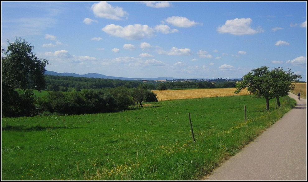 Über den Hunsrück-Radweg bei Argenthal