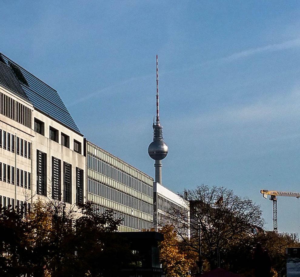 Blick auf den Berliner Fernsehturm
