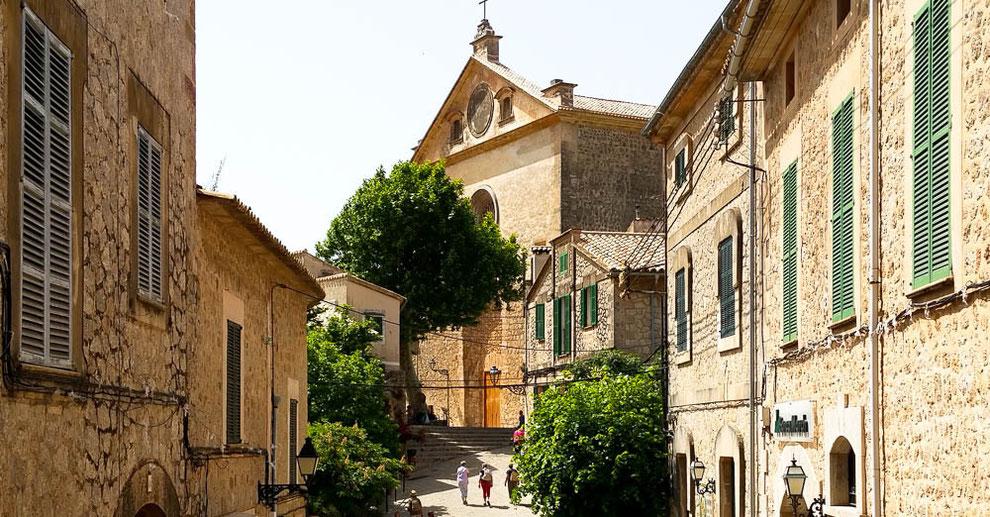 Klosterkirche von Valldemossa