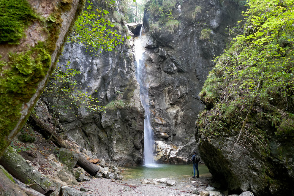 Lainbach-Wasserfall