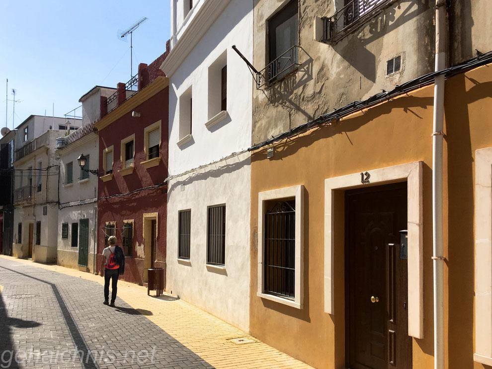 In den Straßen Dénias - viele der alten Häuser sind renoviert