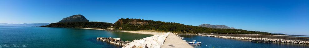 Panorama. Hafen von Osalla