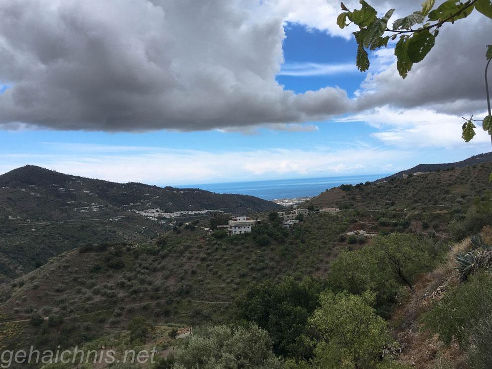 Da wollen wir hin: Blick nach vorne in Richtung Vélez Málaga