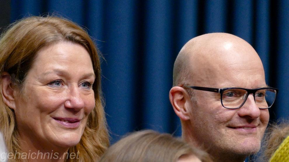 Heike und Oliver Mager - Botschafter der VOR-TOUR der Hoffnung