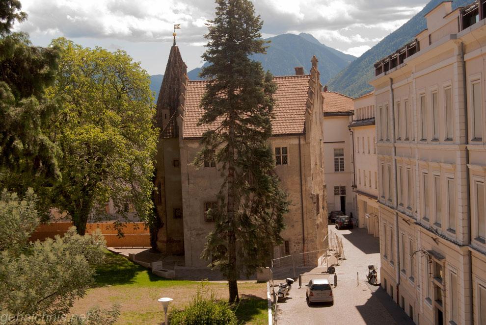 Landesfürstliche Burg - früher Stadtsitz der Landesherren, heute Museum