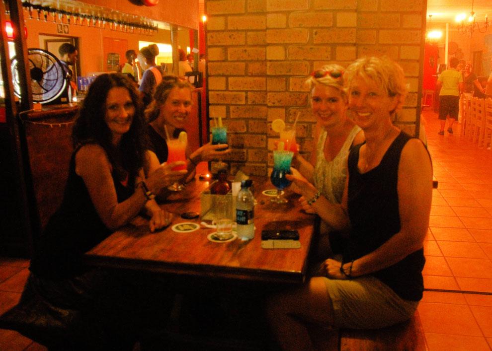 Unser gemeinsamer Abend in St. Lucia
