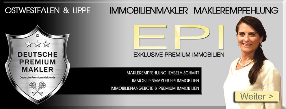IMMOBILIENMAKLER WARBURG  MAKLEREMPFEHLUNG EPI IMMOBILIEN OWL OSTWESTFALEN LIPPE MAKLER MAKLERBÜRO MAKLERAGENTUR MAKLERBEWERTUNGEN MAKLERCHECK