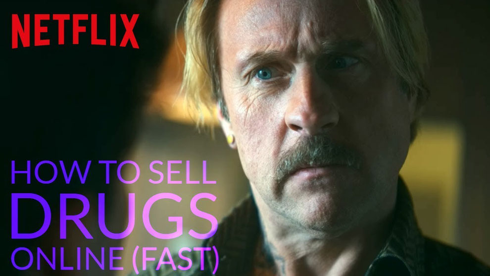 Bjarne mädel in der Netflix Serie, How to sell drugs online fast.