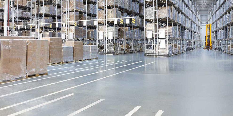 Diseñar un pavimento industrial para almacenes logísticos