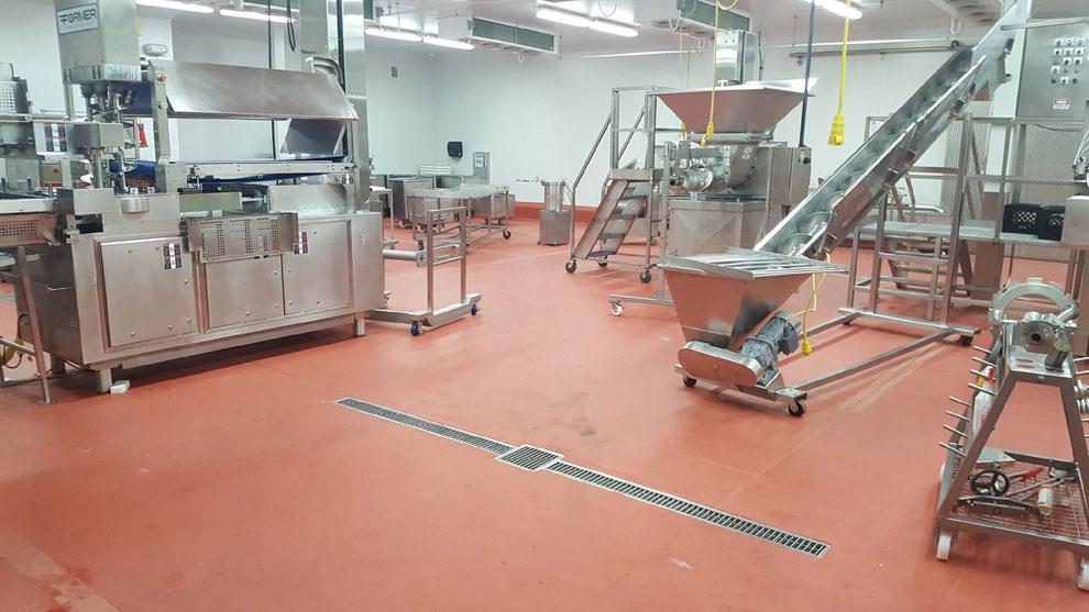 Pintar suelos para naves de cooperativas hortofrutícolas