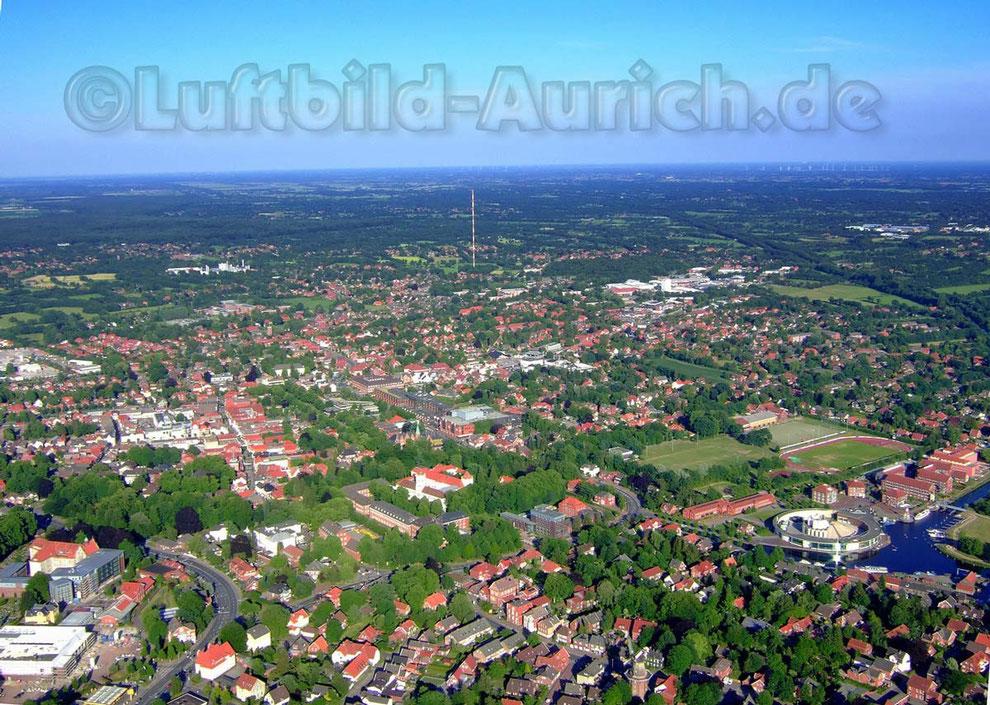 Sparkassen-Arena, Stiftsmühle, Hafen, Ellernfeld und ...Fernsehturm